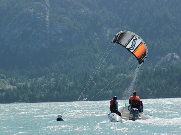 Semi-Private Kiteboarding Lessons