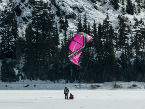 Private Snowkite Lessons