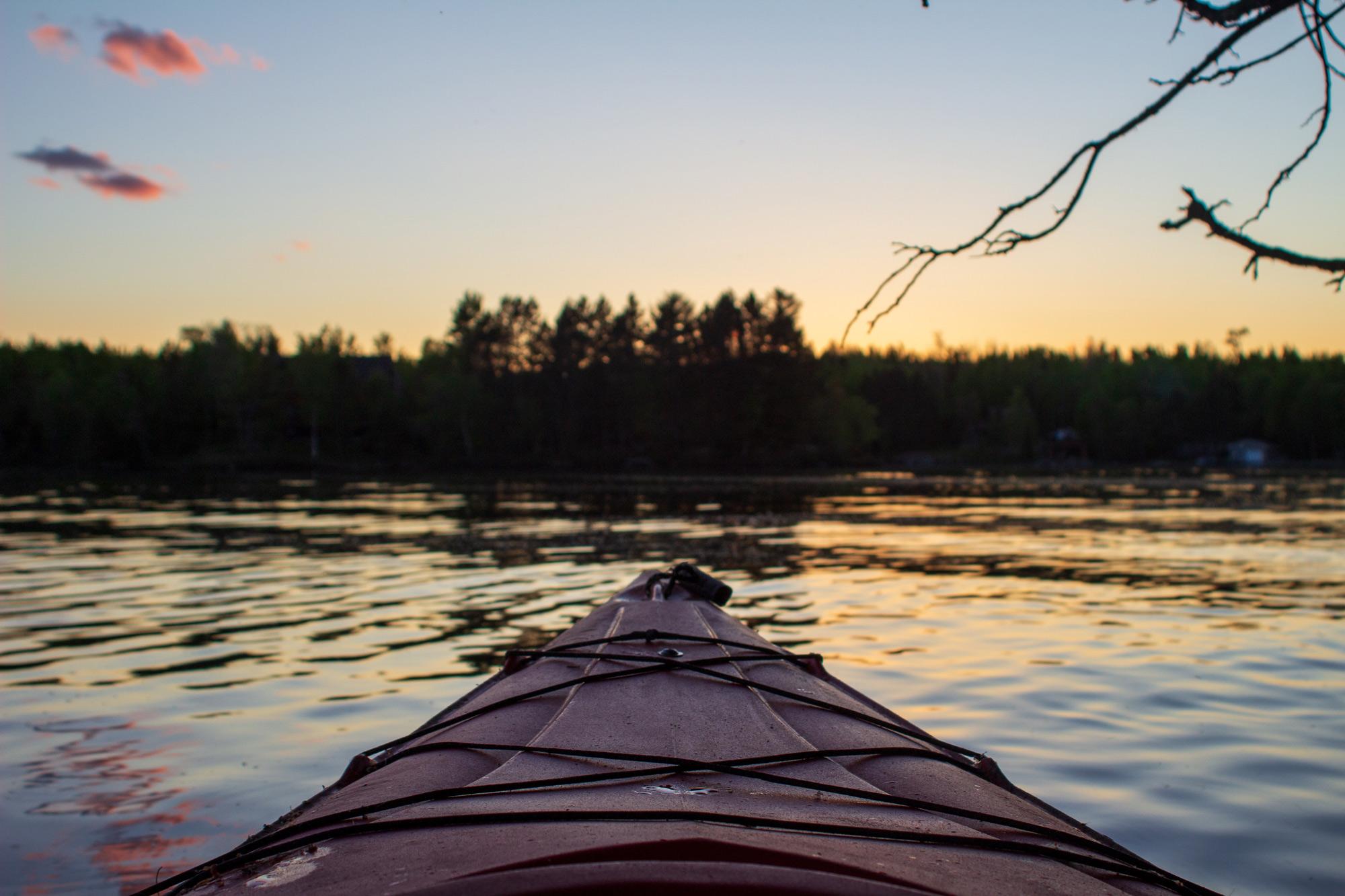 Alice Lake Kayaking